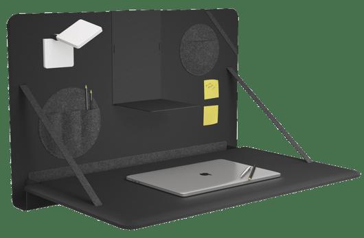 Brunner Kampagne Notebook Produkt schwarz