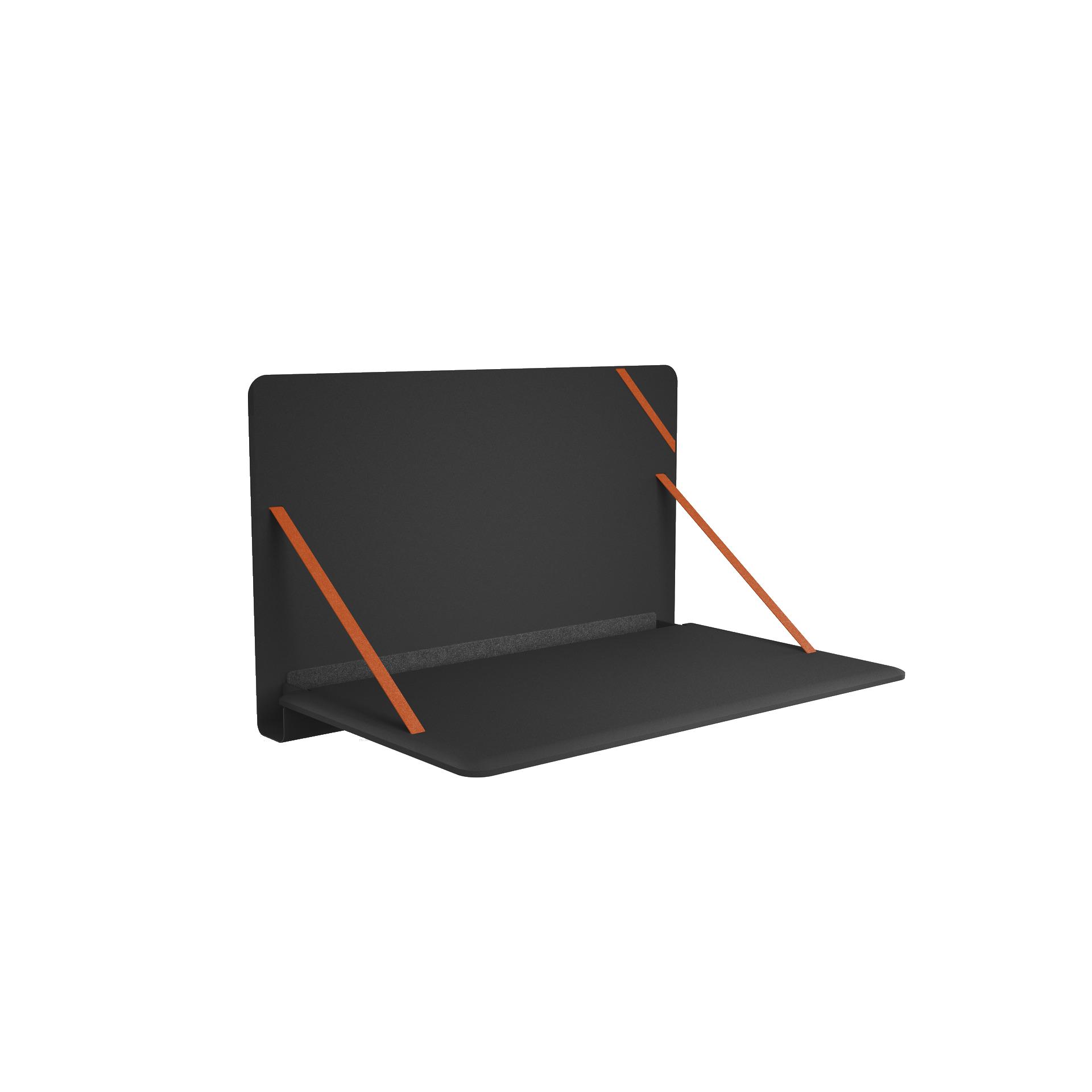 Brunner_notebook_9032_offen_schwarz_orange_mit_schatten_auf_weiß