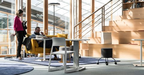 Strukturiert sich ein Unternehmen neu, ist eine Anpassung der Büroplanung meist sinnvoll