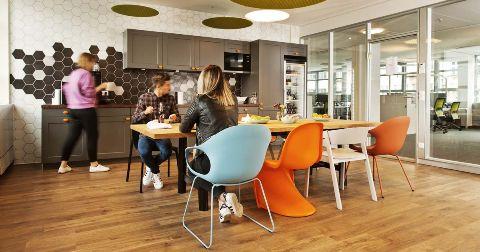 Neue Zeiten stellen neue Anforderungen an Büroflächen