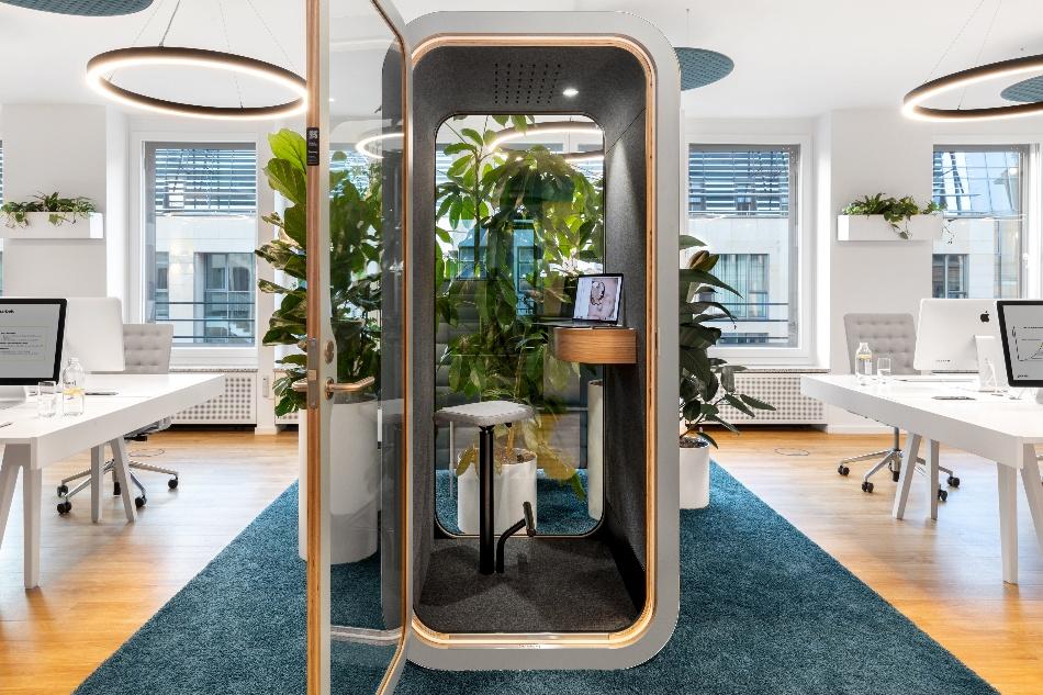 Mit guter Akustikplanung entfalten Bürolandschaften ihre volle Wirkung