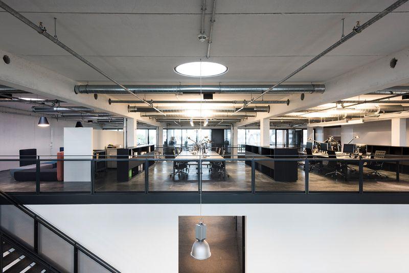 Beispiel für ein Großraumbüro
