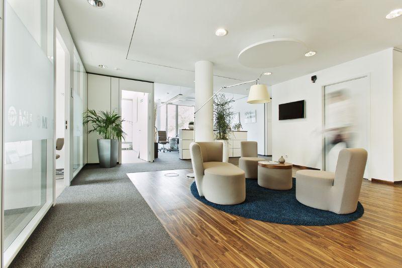 Beispiel für ein Kombibüro beim Finanzdienstleister MLP