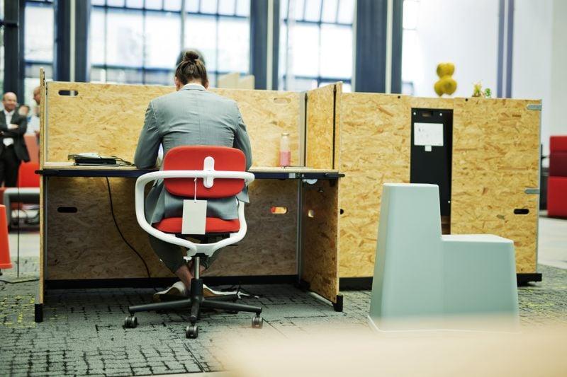Beispiel für ein reversibles Büro