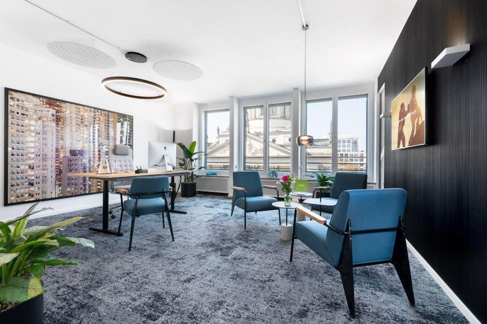 Modernes Bürokonzept Piabo_Chefbüro