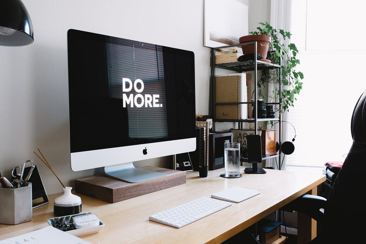 Motivation im Home Office. do more.