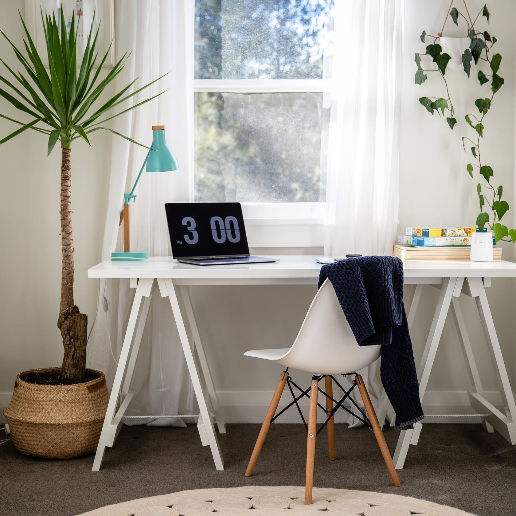Vitra Möbel im Home Office.